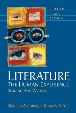 Download Literature: The Human Experience Shorter