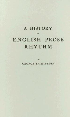 Download A history of English prose rhythm