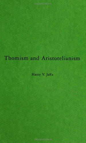 Download Thomism and Aristotelianism