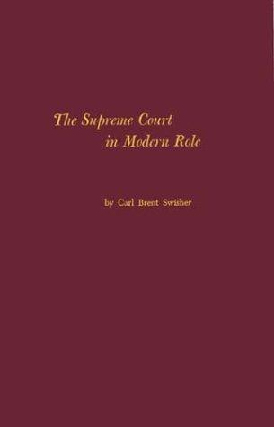 Download The Supreme Court in modern role