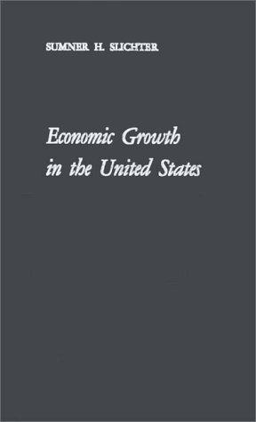 Economic growth in the United States