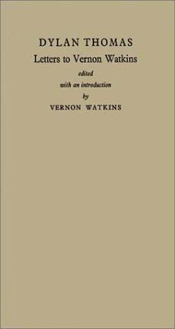 Download Letters to Vernon Watkins
