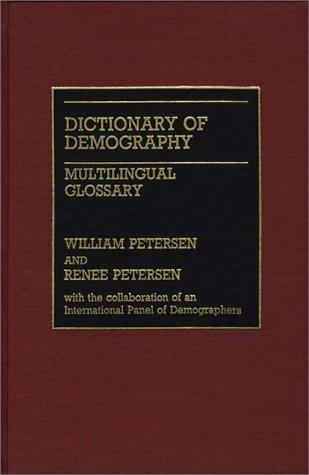 Download Dictionary of demography.