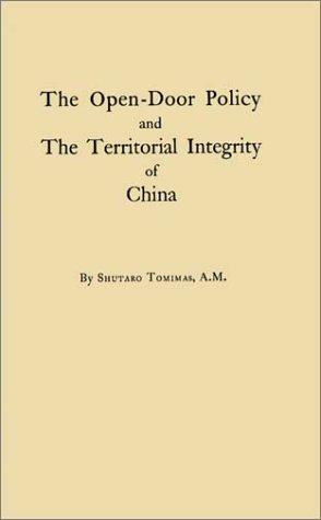 The Open-Door Policy and The Territorial Integrity of China