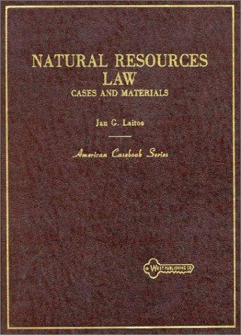 Download Natural resources law
