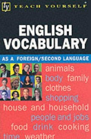 English Vocabulary (Teach Yourself)