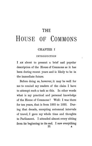 Download The House of Commons