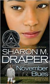 Book Cover: 'November Blues' by Sharon M. Draper