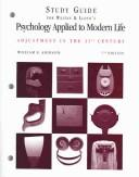 Study Guide for Weiten and Lloyds Psychology Applied to Modern Life