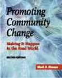Promoting community change by Mark S. Homan
