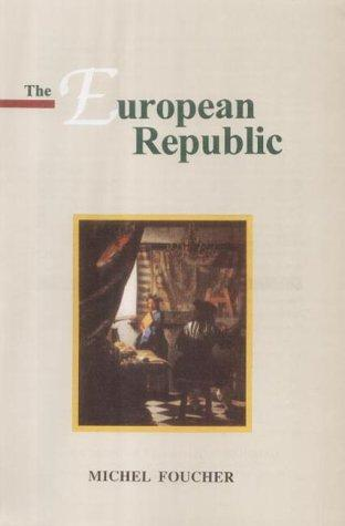 The European republic by Michel Foucher