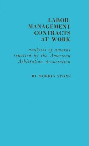 Labor-management contracts at work
