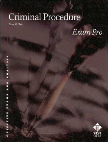 Criminal procedure by Mary M. Cheh