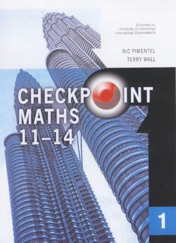 year 7 maths textbook Checkpoint Maths Book 1 (Modular Maths for Edexcel) by Ric Pimentel, Terry Wall