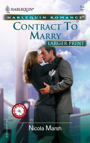 Contract to marry by Nicola Marsh